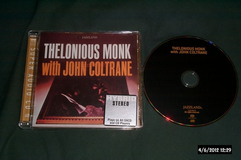 Thelonious Monk  - With John Coltrane SACD Hybrid NM