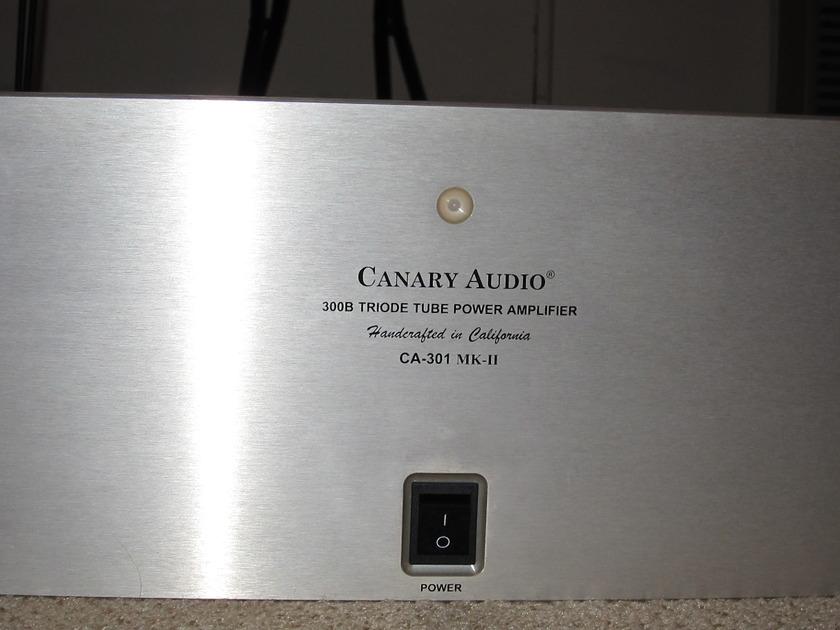 canary ca301mkll power amplifier