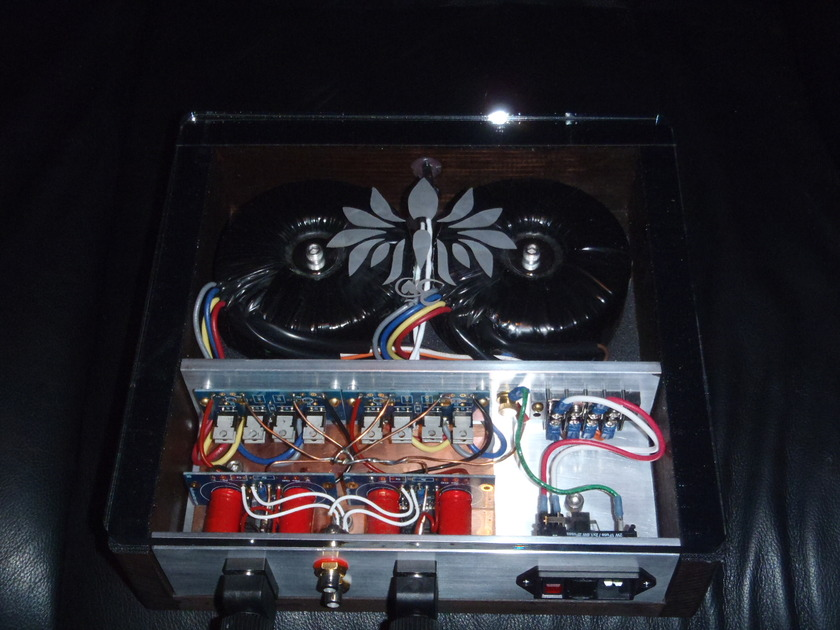 Lotus Aum amplifer patek clone with custom build the last one (Blackgates)