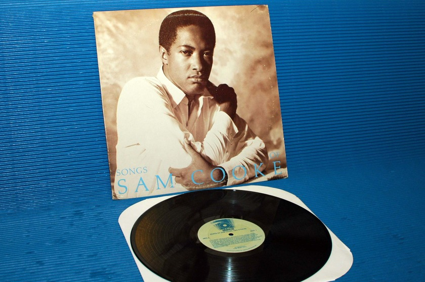 "SAM COOKE -  - ""Songs of"" - ABCKO 1979 promo rare!"