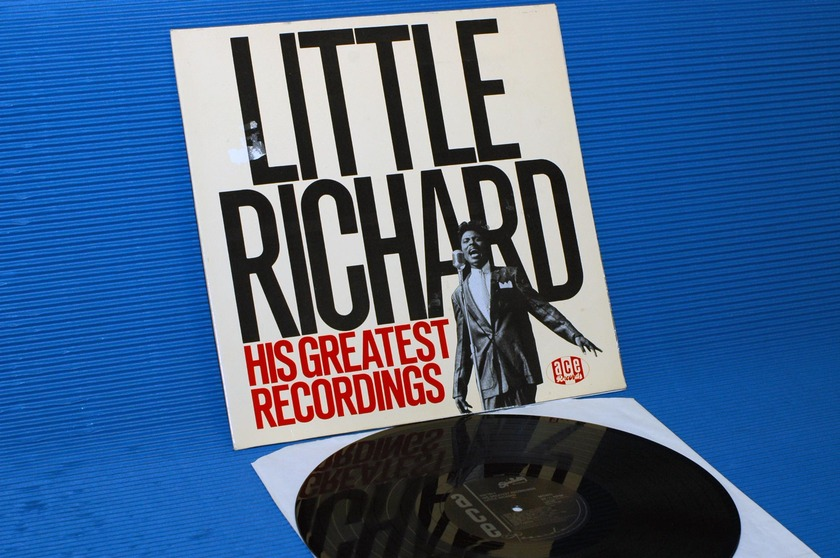 "LITTLE RICHARD -  - ""His Greatest Recordings"" -  ACE UK import 1984 mono"