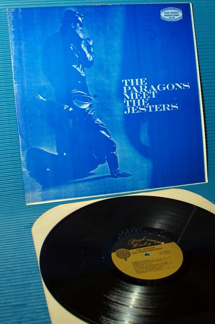"THE PARAGONS/THE JESTERS -  - ""The Paragons Meet The Jesters"" -  Winley Records 1959 mono"