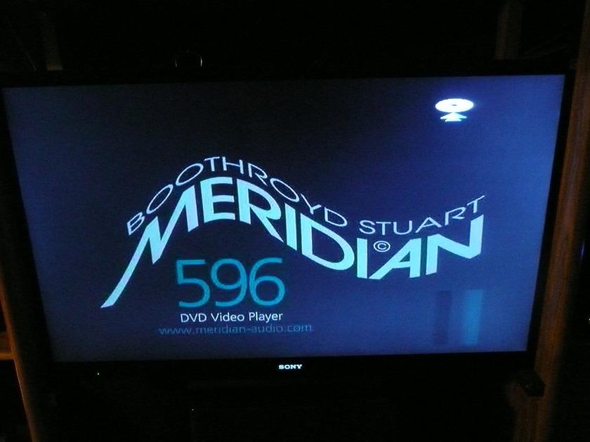 Meridian 596 DVD/CD Player-New Drive/Laser Mechanism