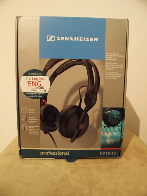 Sennheiser HD 25-1 II  Professional Monitoring Headphones