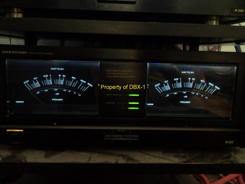 Onkyo Integra M-504 Power Amplifier