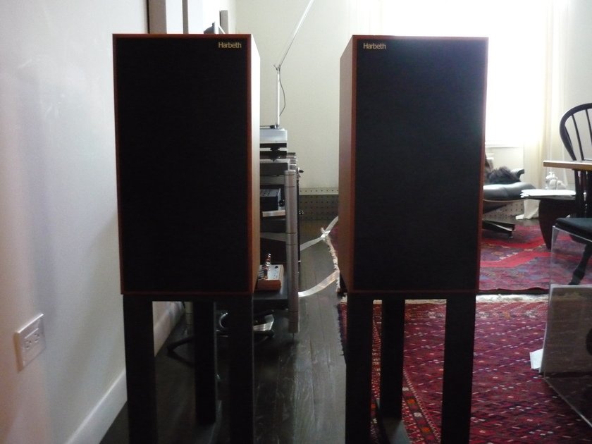 Harbeth Compact 7 ES-2 Excellent condition with stands