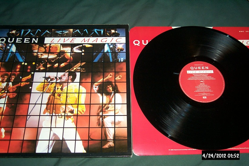 Queen - Live Magic uk lp nm