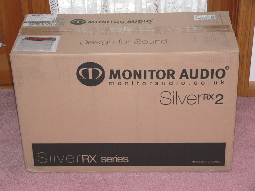 MONITOR AUDIO RX2  1 PAIR A STOCK IN ROSENUT NEW IN FACTORY SEALED BOXES