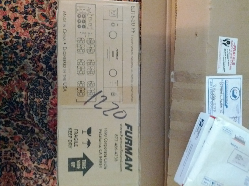 Furman Elite-20 PFI - Brand New Original box, packing etc.