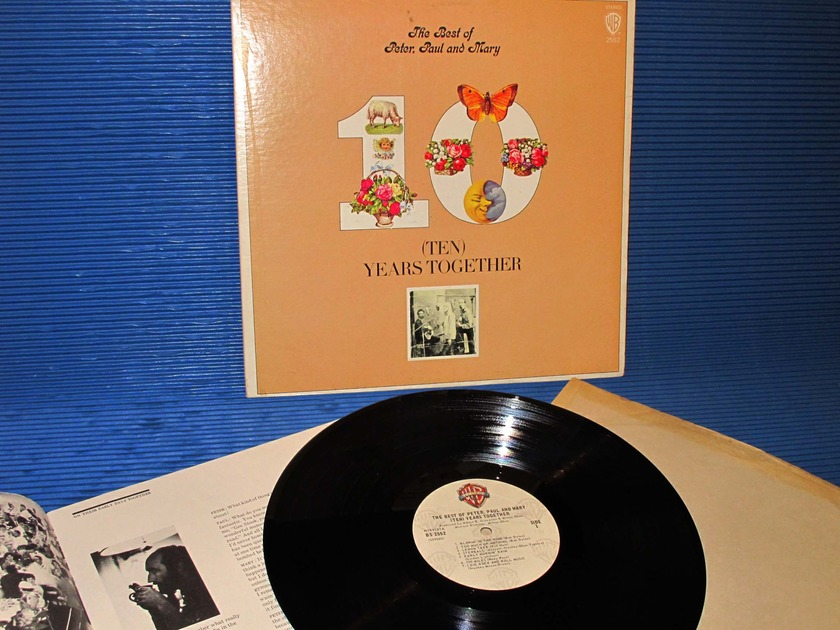 "PETER, PAUL & MARY -  - ""Ten Years Together"" - Warner Bros 1970 w/booklet"