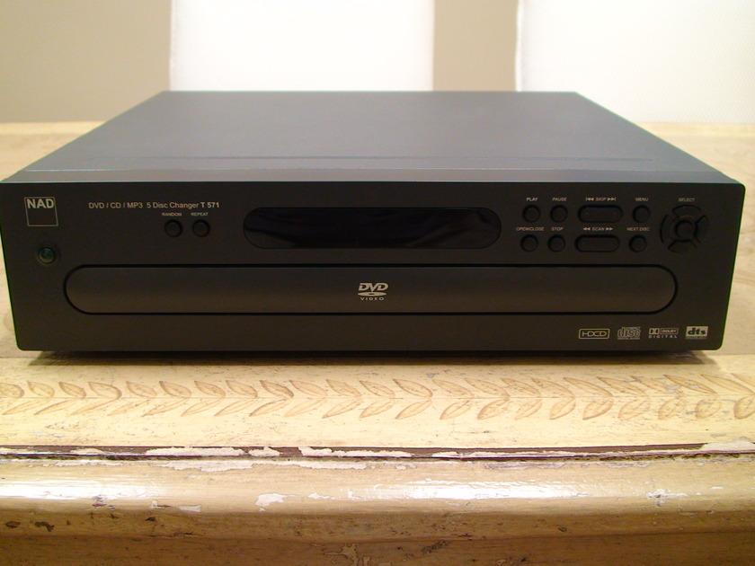 NAD T571 CD/DVDMP3 5-Disc Changer