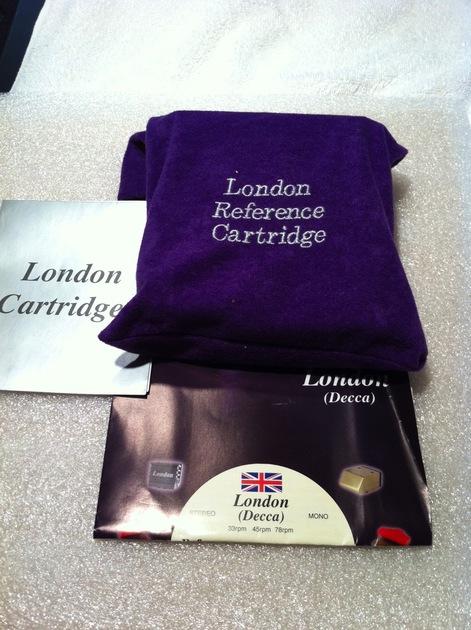 London (Decca) Reference cartridge