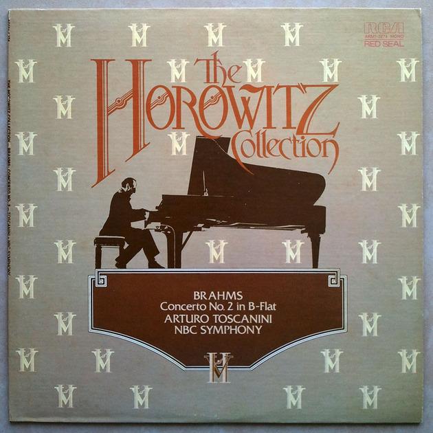 RCA | HOROWITZ/TOSCANINI/BRAHMS - Piano Concerto No. 2 / NM