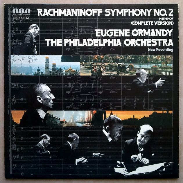 RCA | ORMANDY/RACHMANINOFF - Symphony No. 2 / NM