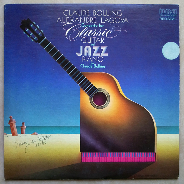 RCA | BOLLING - - Concerto for Classic Guitar & Jazz Piano / NM