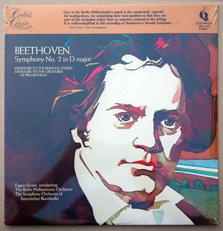 Sealed QUINTESSENCE | JOCHUM/BEETHOVEN - Symphony No. 2 & Overtures