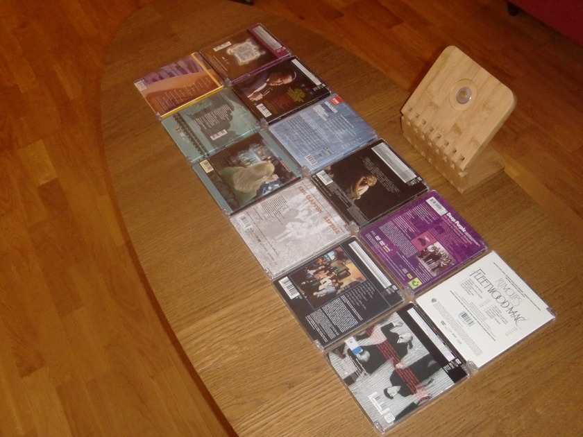 RARE DVD AUDIO  - 12 disc collection combo sale!