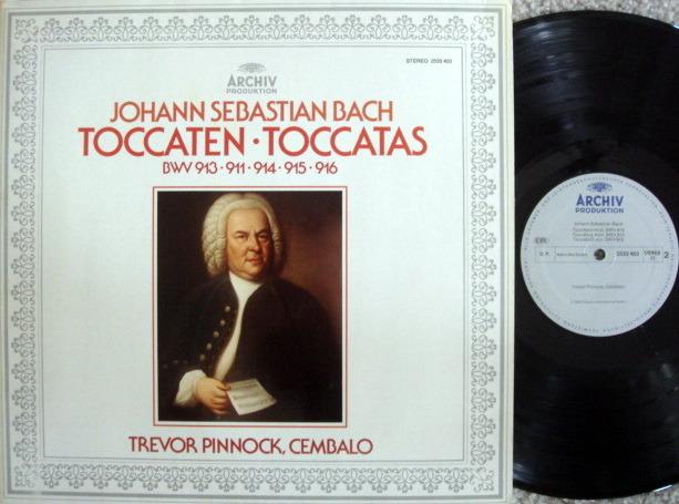 Archiv / PINNOCK, - Bach Toccatas, NM!