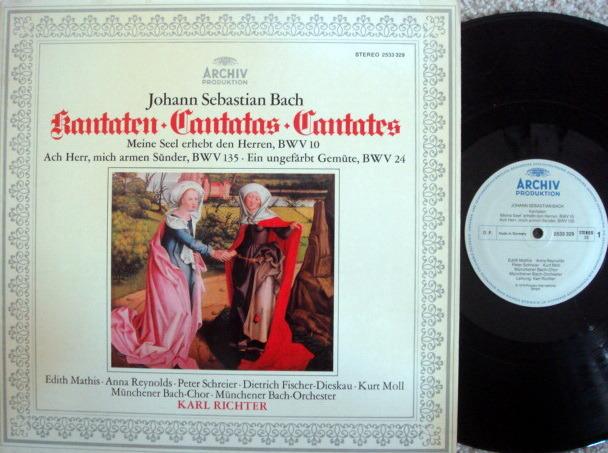Archiv / RICHTER, - Bach Cantatas BWV.10, 135 & 24, NM!