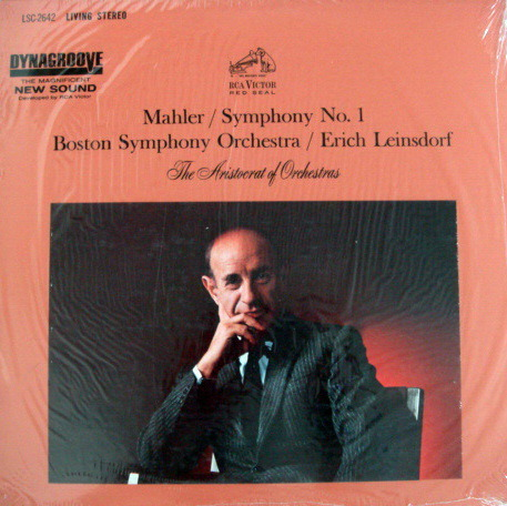 ★Sealed★ RCA LIVING STEREO / Leinsdorf, - Mahler Symphony No.1, Original!