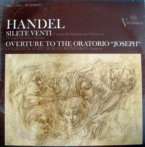 ★Sealed★ RCA Victrola / REINHARDT, - Handel Silete Venti, Original!