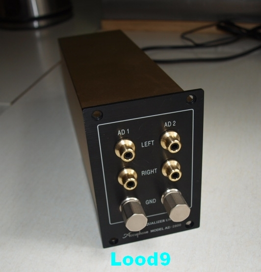 Accuphase AD-2800 suitable for all cartridges