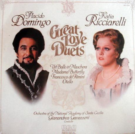 ★Sealed★ RCA Red Seal /  - DOMINGO-RICCIARELLI, Great Love Duets!