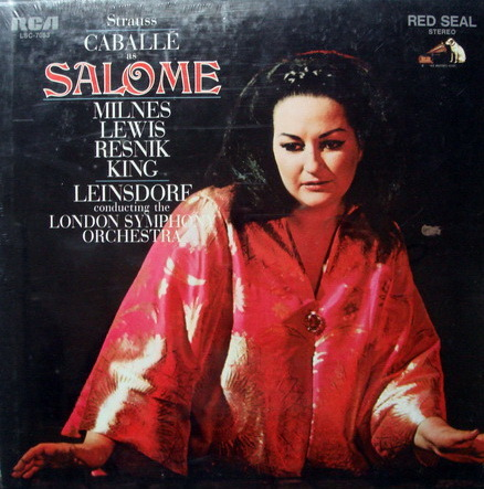 ★Sealed★ RCA Red Seal / LEINSDORF-CABALLE, - R. Strauss Salome, 2LP Box Set!