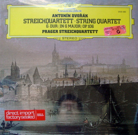★Sealed★ DG / PRAGER QUARTET, - Dvorak  String Quartet No.13!