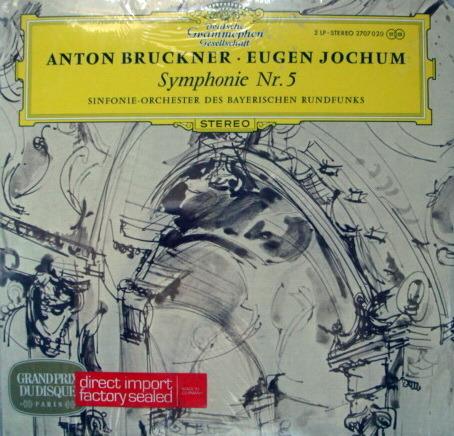 ★Sealed★ DG / JOCHUM, - Bruckner Symphony No.5, 2LP Set!