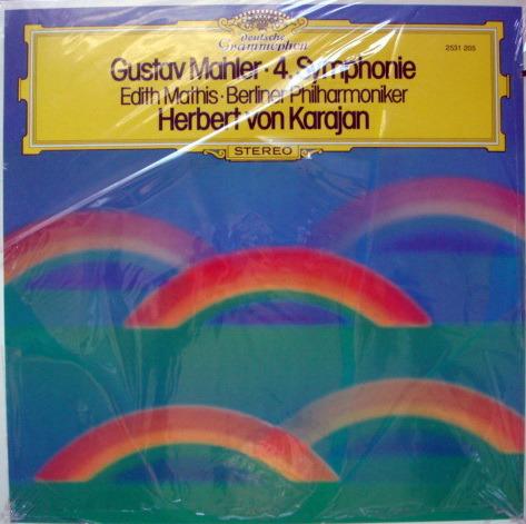 ★Sealed★ DG /  - KARAJAN, Mahler Symphony No.4!