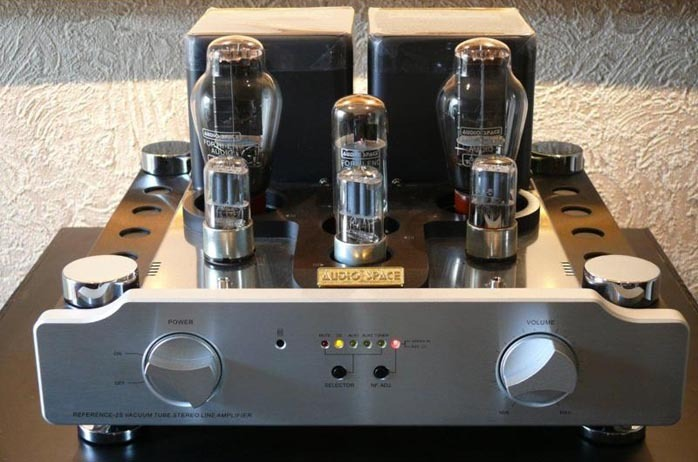 Audio Space - Rmaf Reference 2S 300b preamp!  40 pounds