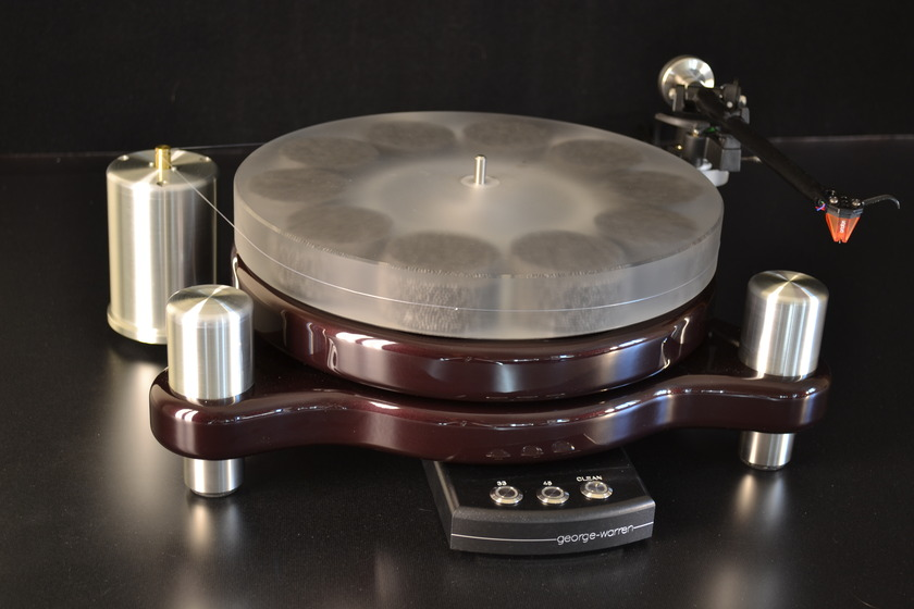 "George Warren Turntable ""Stereo Times Most Wanted Component"""