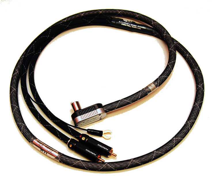 Crystal Clear Audio Master Class series V2 Phono Cable 1.5m 5 ft. Furutech din and rca