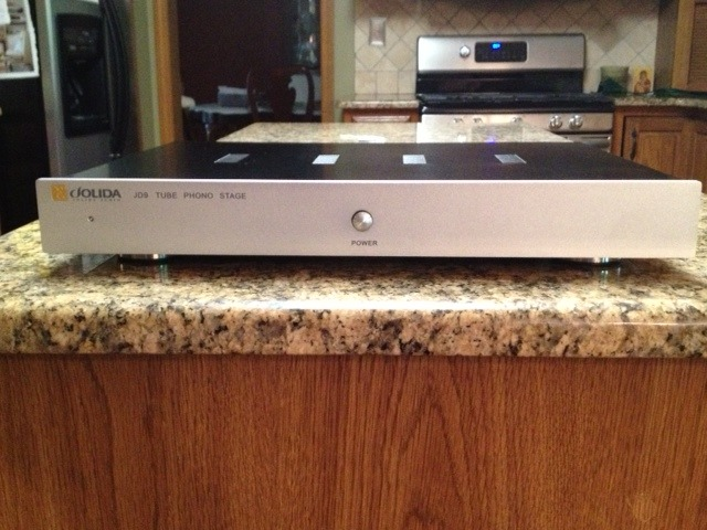 Jolida JD-9A  Silver Phono Preamp (tube)
