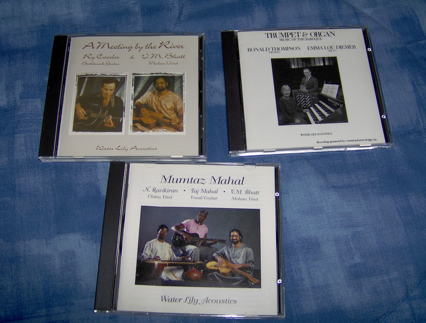 A Meeting By the River,  Mumtaz Mahal, Trumptet and Organ - Water Lily Acoustics  (Meeting is with Ry Cooder and V.M. batt) free shipping in US