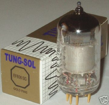 Tung Sol EF806SG/EF86 Gold Pin tube, brand new in boxes !