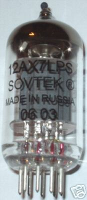 Sovtek tubes, 12AX7LPS/12AX7WC, low noise brand new !