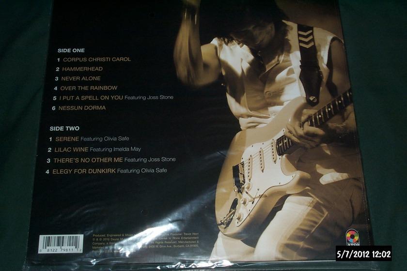 Jeff beck - Emotion & Commotion ltd 3000 copies sealed lp