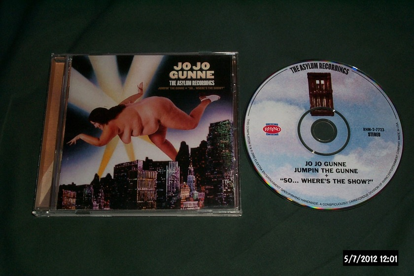 Jo Jo Gunne - Asylum Recordings limited edition cd