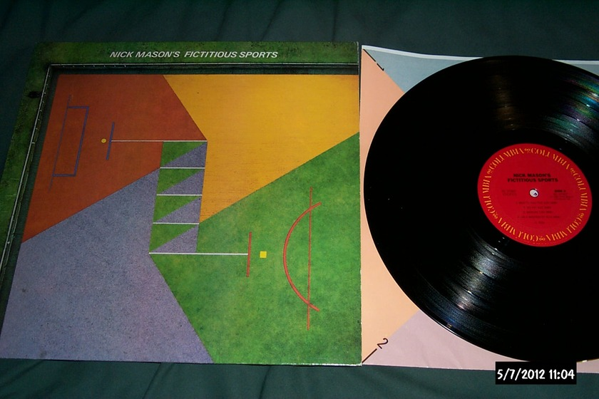 Nick mason - Fictitious Sports lp nm pink floyd drummer