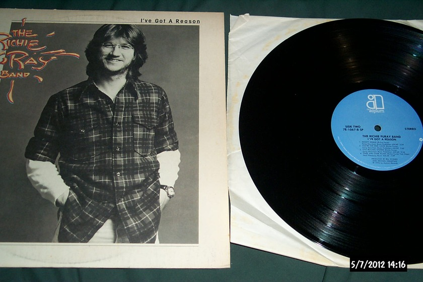 RIchie Furay Band - I've Got A Reason LP NM
