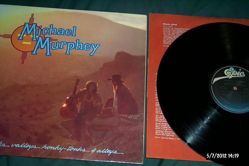 Michael Murphey - Peaks Valleys Honky-Tonks & Alleys LP NM