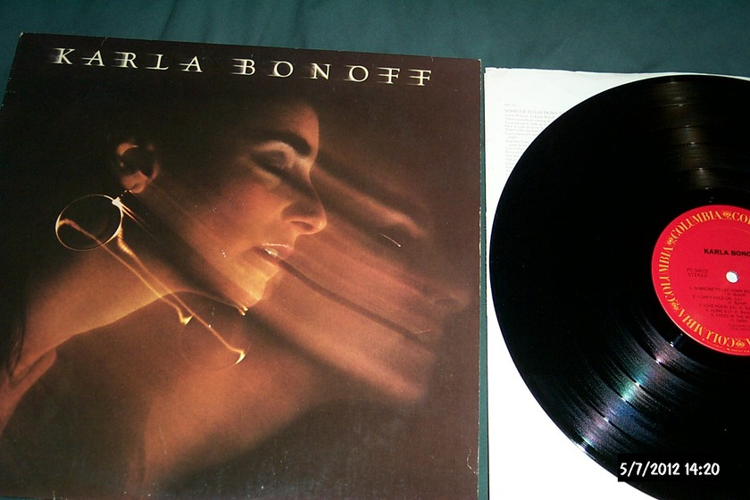 Karla Bonoff - S/T LP NM