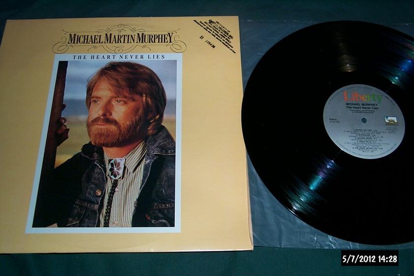 Michael Martin Murphey - The Heart Never Lies LP NM