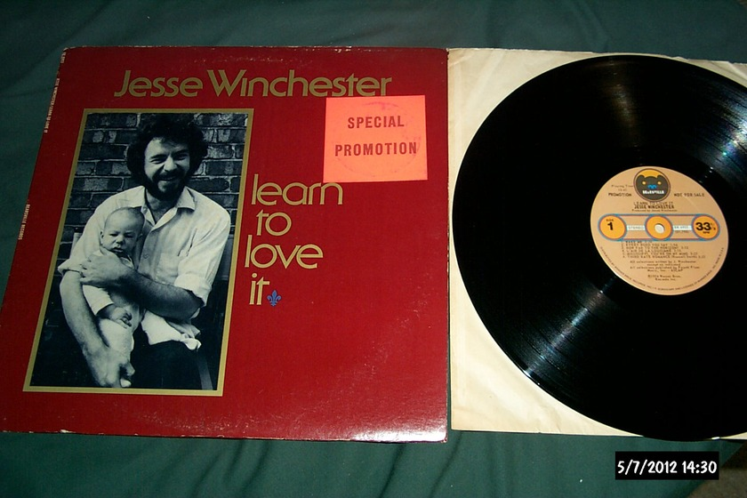 Jesse Winchester - Learn To Love It Promo LP NM