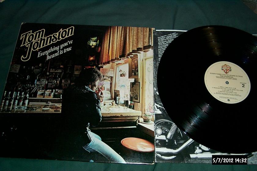 Tom Johnston - Everything You've Heard Is True LP NM