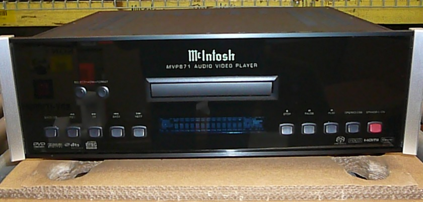 Mcintosh MVP871 Great DVD SACD PLAYER