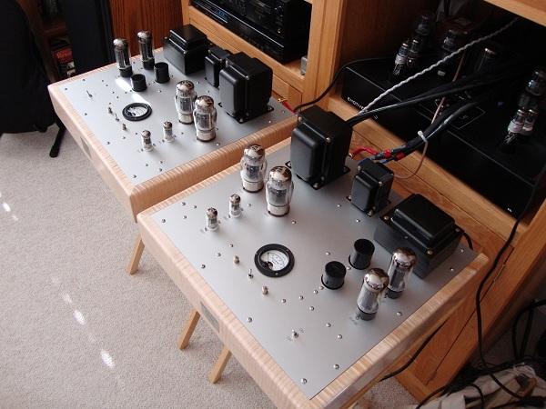 Emotive Audio Custom E-Linear Monoblock Power Amplifiers