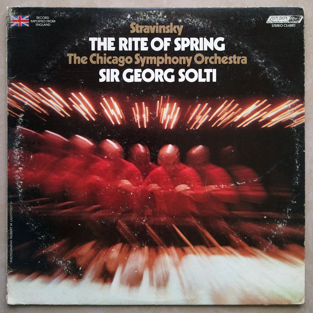 London ffrr | SOLTI/STRAVINSKY - The Rite of Spring / NM
